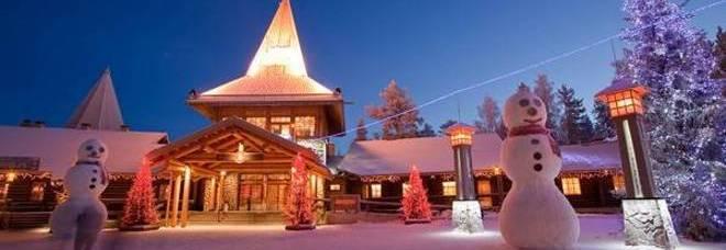 Villaggio Babbo Natale Torino.Finlandia Nel Villaggio Di Babbo Natale In Viaggio Al