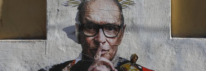 Ennio Morricone, a Trastevere spunta il murale di Harry Greb FOTO