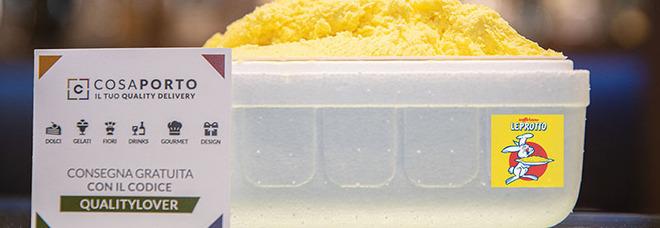Gelato, è l'estate del gusto zafferano: impazza il Leprotto Cream