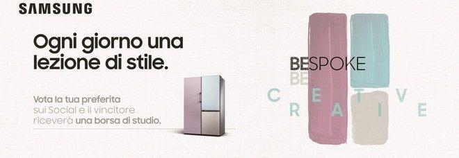 """Il progetto Samsung """"Bespoke-Becreative"""" arriva a Milano"""