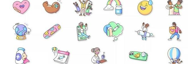 Whatsapp, i nuovi sticker: «Vaccini per tutti». La campagna in collaborazone con l'Oms