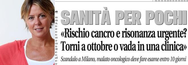 Sanità in Lombardia, l'ex ministra Lorenzin sull'articolo di Leggo: «La Regione dovrebbe garantire quegli esami»