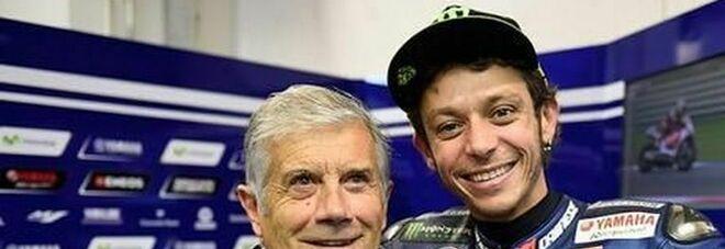 """Agostini: """"Valentino Rossi, addio giusto. Io piansi tre giorni di fila. Ora comincia una nuova vita"""""""