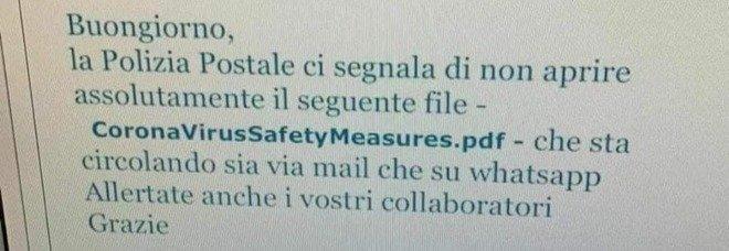 La Polizia Postale: non aprire questo file, sembra un PDF ma è un virus informatico