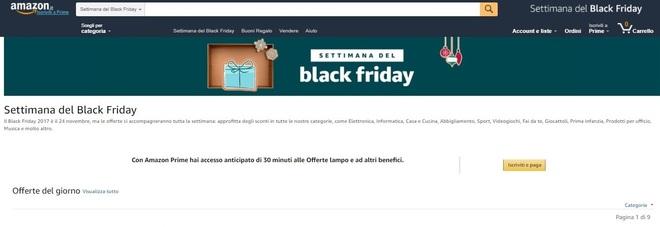d95ed73b4d Black Friday 2017 Amazon: sconti, promozioni e le migliori offerte di oggi