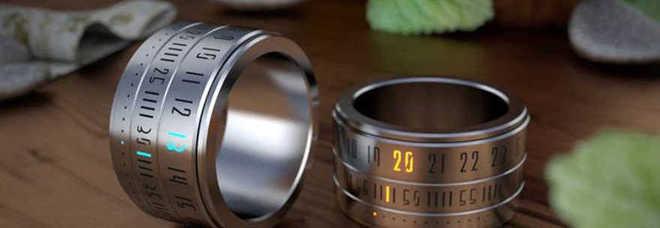 nuovo stile c1bc1 83e74 Ring Clock»: quando l'anello è un orologio