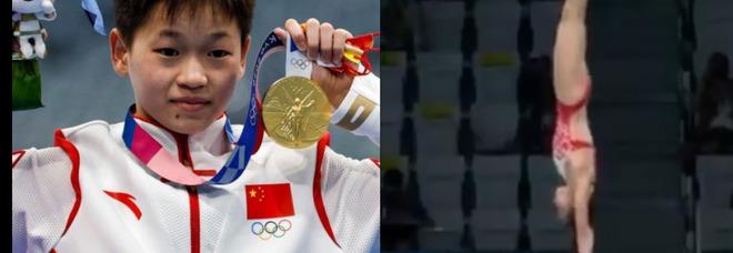Tokyo 2020, a 14 anni vince l'oro con due tuffi da 10: è alle Olimpiadi per pagare le cure alla mamma malata