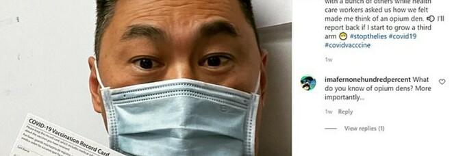 L'infermiere americano: «Otto giorni dopo il vaccino sono risultato positivo al Covid»