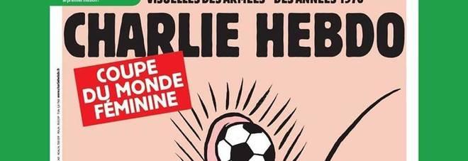 Charlie Hebdo e i Mondiali femminili, la vignetta fa discutere. «Mangeremo per un mese»