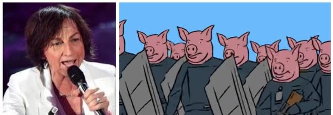 Gianna Nannini, «poliziotti come maiali» nell'ultimo video: l'ira dei sindacati. La risposta della cantante