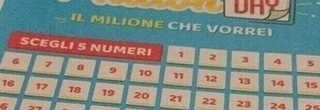 MillionDay, i cinque numeri vincenti di martedì 11 maggio 2021