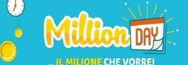 Million Day, diretta numeri vincenti di mercoledì 20 gennaio 2021