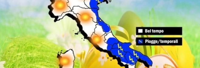 Meteo, le previsioni a Pasqua e Pasquetta: ecco dove arriva la ...