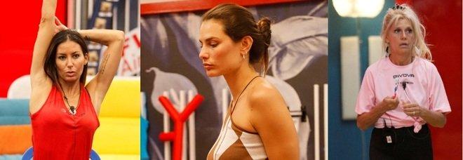 Grande Fratello Vip, undicesima puntata: Maria Teresa Ruta, Elisabetta Gregoraci e Dayane Mello in nomination. Matilde Brandi eliminata