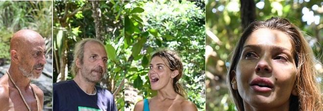 Isola 2021, dodicesima puntata: Roberto, Manuela, Ubaldo e Miryea in nomination. Vera Gemma eliminata