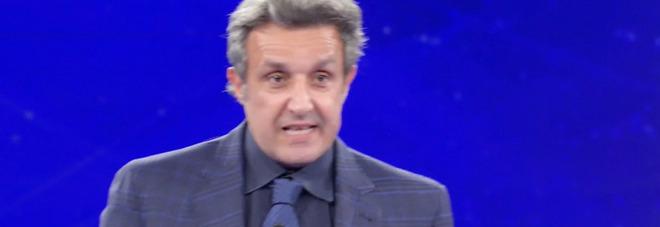 L'Eredità, la frase choc del campione alla ghigliottina spiazza tutti. Flavio Insinna allibito: «Cosa hai detto?»