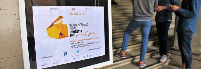 """""""Smart Space"""", il concorso di idee per riqualificare Roma: il premio a giovani professionisti"""