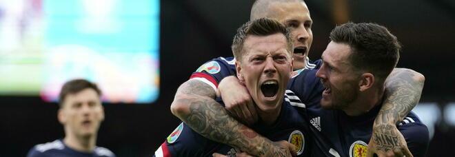 Covid, quasi duemila casi in Scozia legati a Euro 2020: «Molti erano a Londra per la gara con l'Inghilterra»