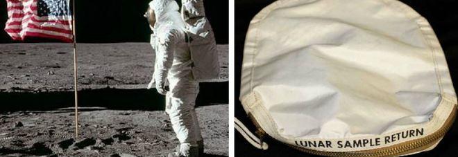 Polvere di Luna raccolta da Armstrong all'asta: fu pagata 995 dollari, ecco quanto vale oggi