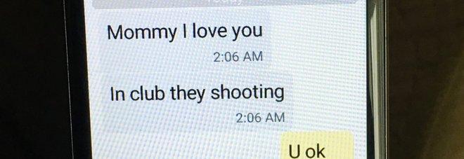 """""""Mamma sto per morire, ti voglio bene"""": gli ultimi sms dall'incubo di Orlando -Foto"""