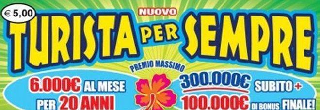 """Gratta e Vinci """"Nuovo turista per sempre"""": vinti due premi da 1.756.340. Ecco dove è arrivata al fortuna"""