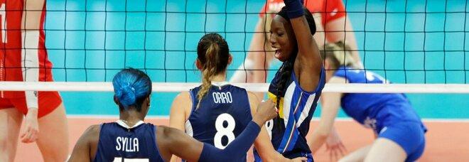 Italia-Olanda 3-1, Egonu trascina le ragazze del volley in finale agli Europei