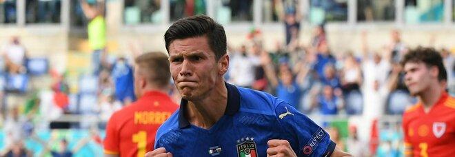 L'Italia batte il Galles con un gol di Pessina e vola agli ottavi di finale. Primi nel girone: ora a Wembley Austria o Ucraina