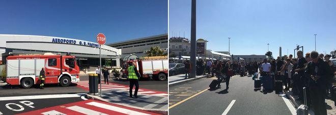 Falso allarme bomba all 39 aeroporto di ciampino scalo - Allarme bomba porta di roma ...