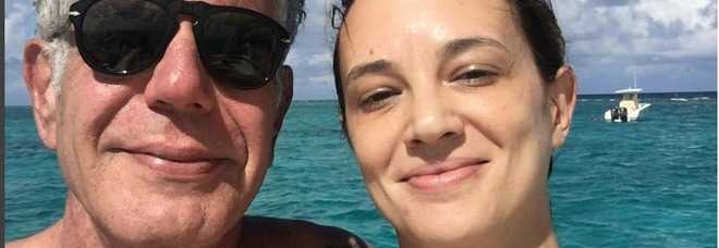 Asia Argento accusata del suicidio di Anthony Bourdain, le star di Hollywood scrivono una lettera