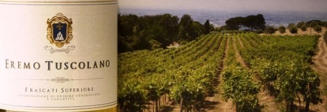 Il Frascati Superiore dell'anno: Eremo Tuscolano 2016. Il vino che nasce dai terreni dei frati eremiti batte tutti