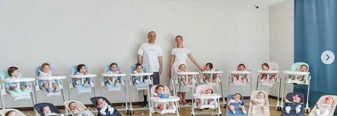 Coppia mette al mondo 20 figli con la maternità surrogata: «Vogliamo arrivare a 100»