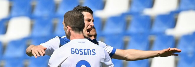 Il Sassuolo ferma l'Atalanta: l'1-1 regala lo scudetto all'Inter