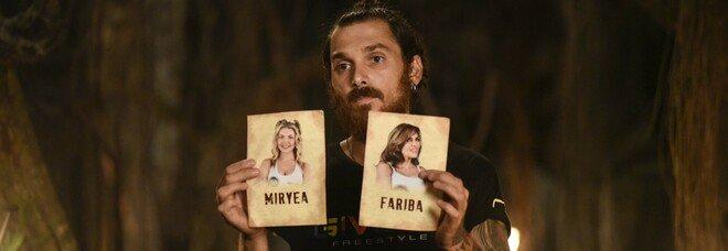 Isola 2021, puntata 21 maggio: Andrea Cerioli primo finalista. Miryea e Fariba in nomination