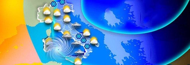 """Weekend gelido. Temperature giù di 15°, effetto """"Wind Chill"""". Roma e Napoli vicine allo zero"""