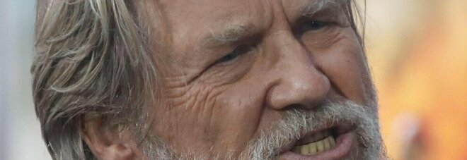 Jeff Bridges choc: «Ho il cancro»