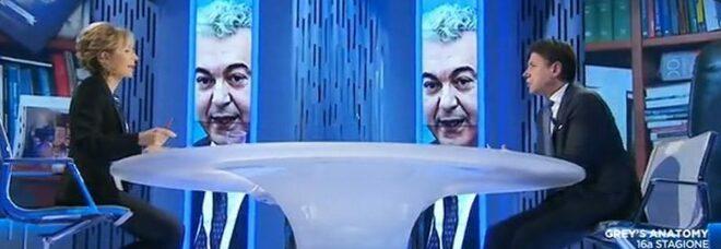 Ascolti Tv 23 novembre 2020, Gruber in doppia cifra con Conte. Report ad alta quota
