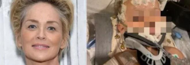 Sharon Stone, il nipotino si è aggravato. La star lascia la sfilata di Dolce&Gabbana a Venezia