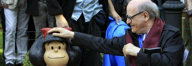 È morto Quino, il disegnatore argentino che ha inventato Mafalda