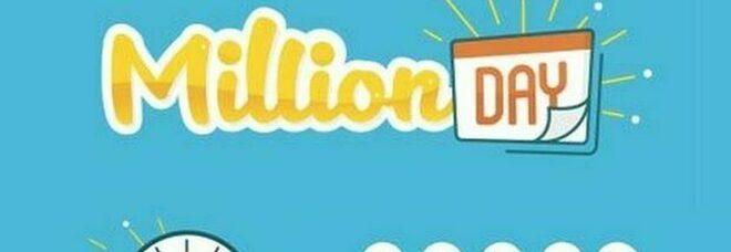 MillionDay, i cinque numeri vincenti di venerdì 16 luglio