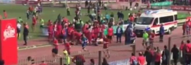 Dramma alla Stramilano, morto un atleta: Fabio si accascia poco prima del traguardo
