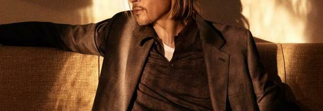 Brad Pitt firma una capsule collection per Brioni: sette capi versatili e raffinati nel segno di Hollywood