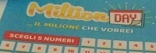 Million Day, i numeri vincenti di giovedì 25 marzo 2021