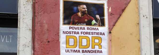 Roma, fuori dall\'ex Roma club il murales più bello per Daniele De Rossi