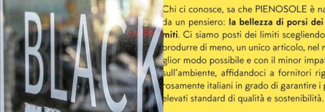 BlackFriday, il marchio italiano che non offre gli sconti: «Ecco perché»