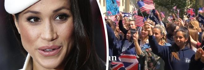 Meghan Markle, nel suo liceo una festa per celebrare il Royal Wedding con Harry
