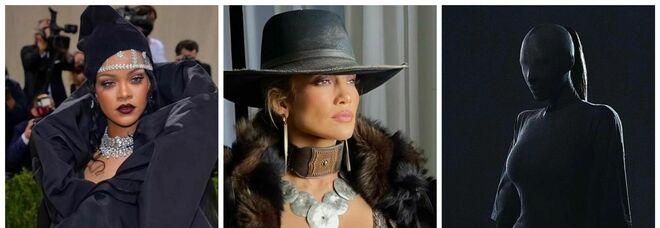 Met New York, il Gala ritorna in presenza con i look più eccentrici: da Jennifer Lopez a Kim Kardashian, le star in passerella