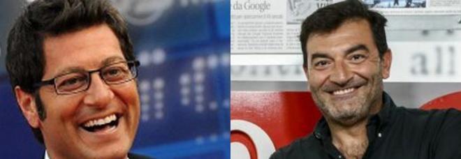 Max Giusti verso Tv8, Enrico Papi a Mediaset