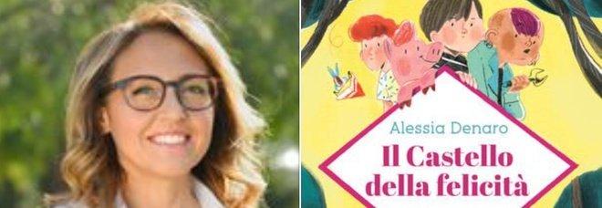 Il Castello della felicità, l'esordio di Alessia Denaro con il suo sogno: un libro per ragazzi