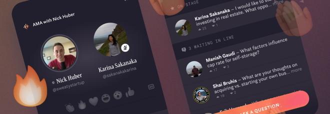 """Facebook s'ispira a Clubhouse con """"Hotline"""". L'interazione è sia vocale che video"""