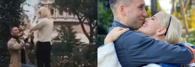 Mattia Briga, proposta di matrimonio social alla sua Arianna: «Ha detto sì» VIDEO